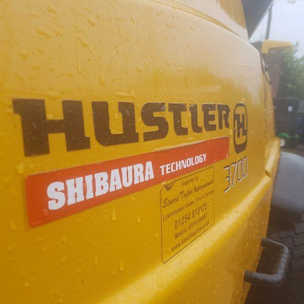 Hustler 3700 Shibaura Lawn Mower Sales And Hire Stuart